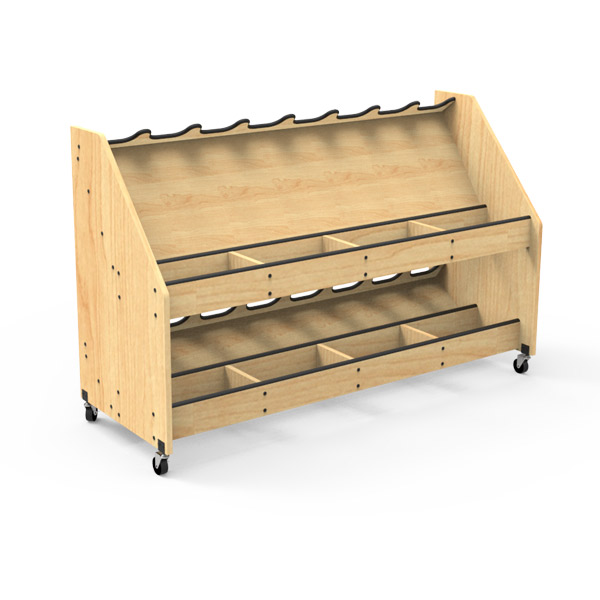 Mobile Instrument Storage Carts