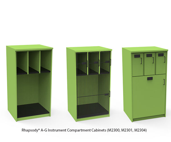 Modular Instrument Compartment Cabinets