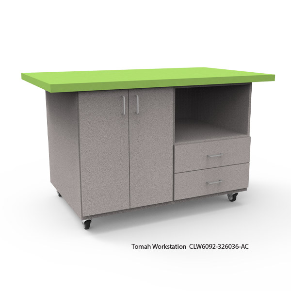 Tomah Workstation with Laminate Top