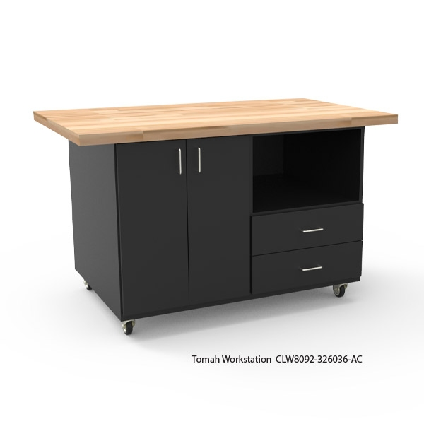 Tomah Workstation with Phenolic Top