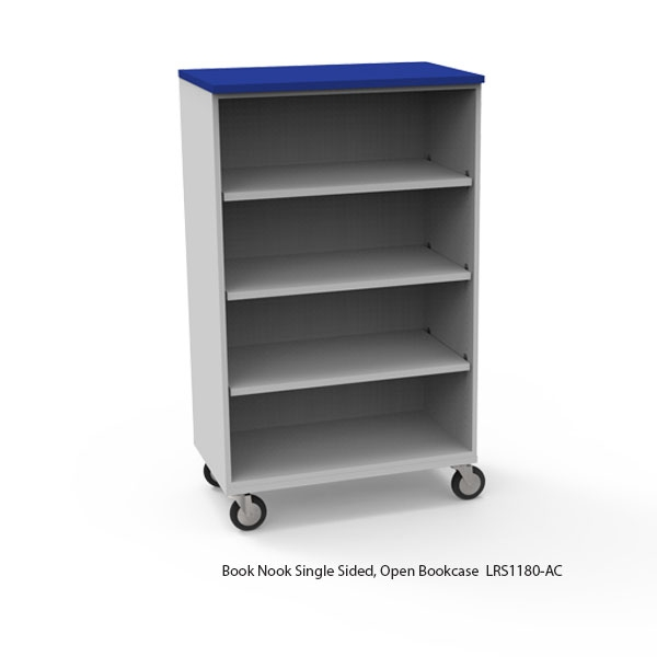 Mobile Single Sided Bookcases