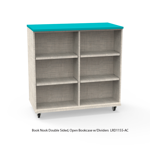 Double Sided Bookcase-Mobile