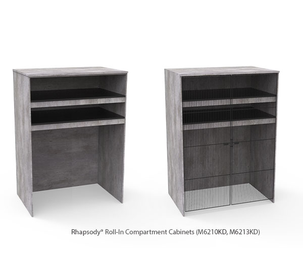 Roll-In Compartment Cabinets