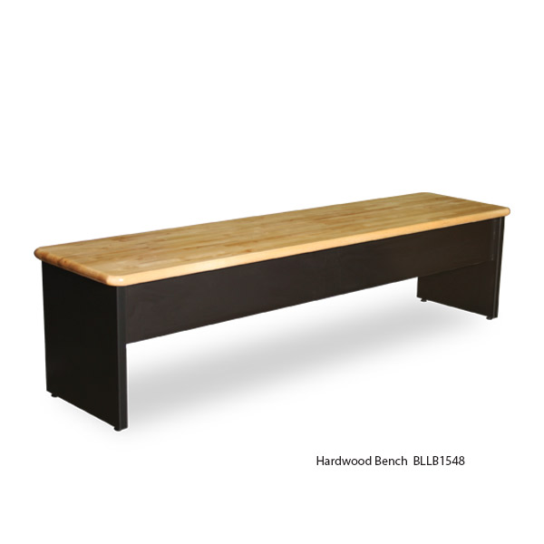 Hardwood Top Laminate Benches