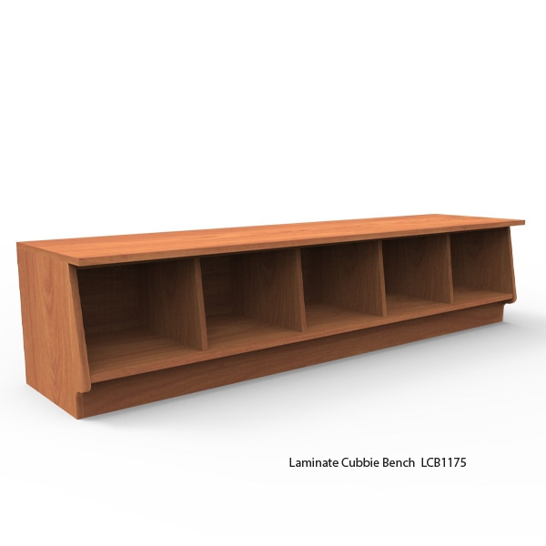 Laminate Cubbie Benches