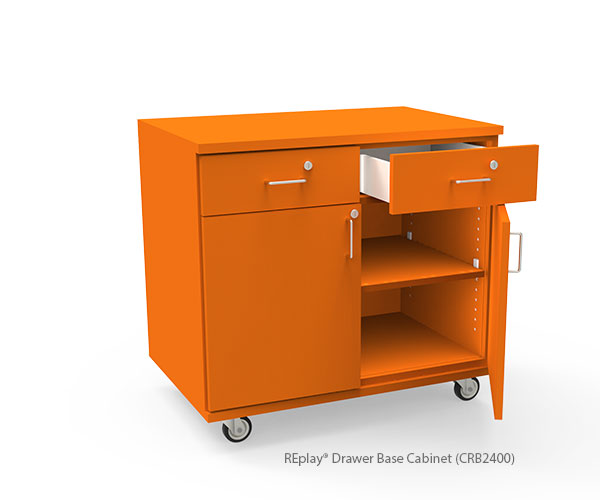 Drawer Over Double Door Base Cabinets