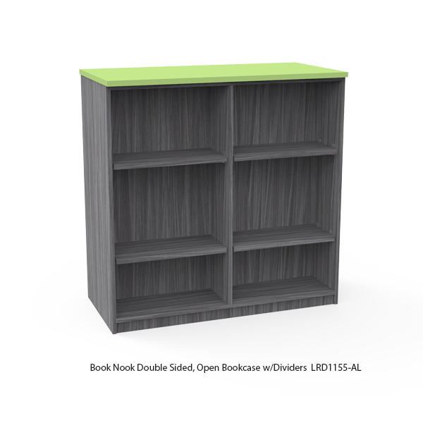 Double Sided Bookcase-Modular