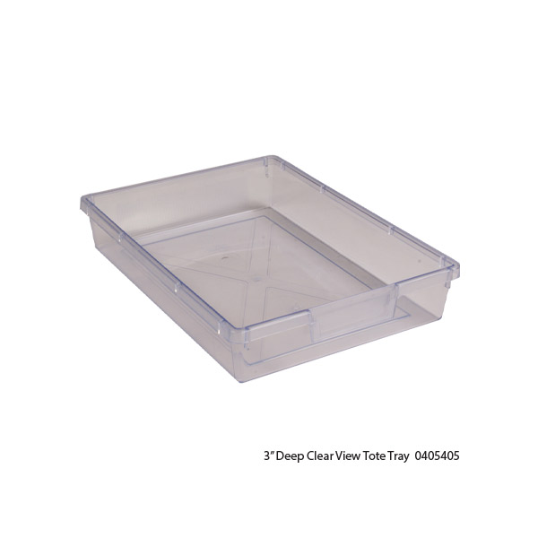 Clear View Tote Trays