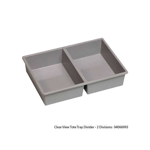 Clear View Tote Tray Dividers