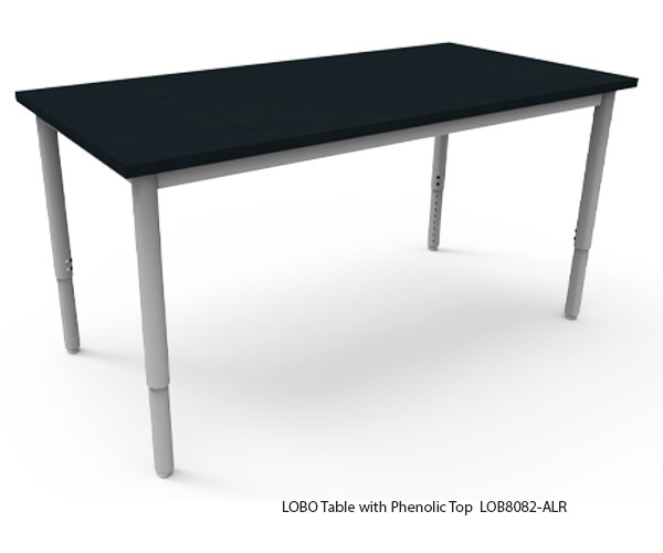 LOBO Table with Phenolic Top