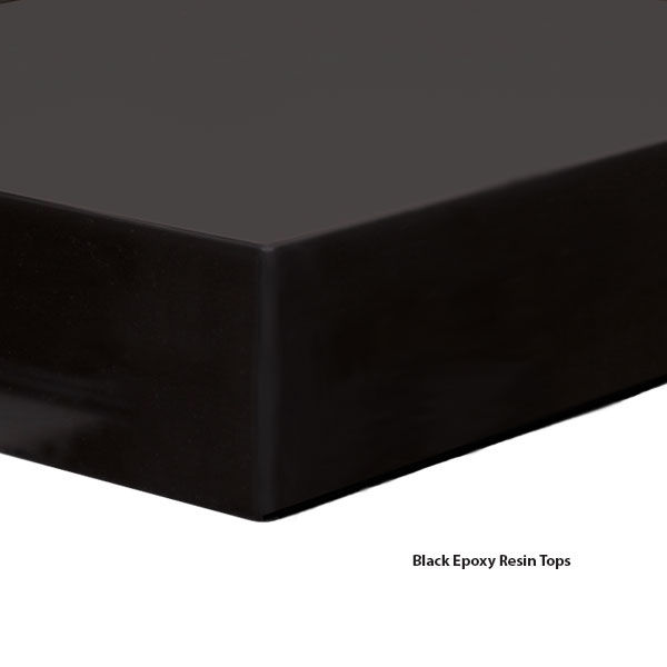 Black Epoxy Resin Tops   Work Surfaces   WB Manufacturing