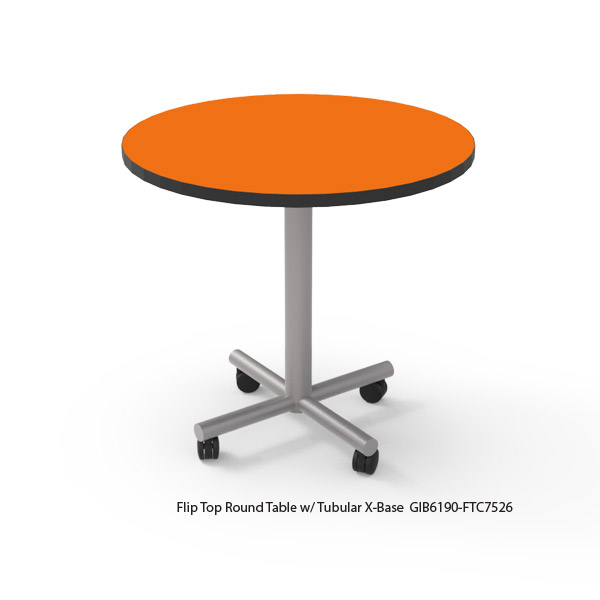Flip Top Round Top Tables