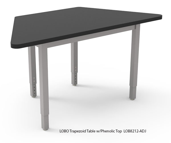 LOBO Trapezoid Table with Phenolic Top