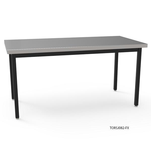 TORO Table with Stainless Steel Top