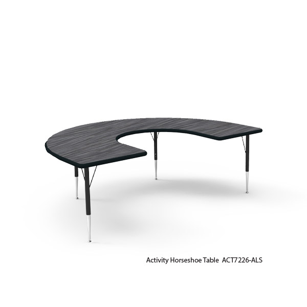 Horseshoe Activity Table