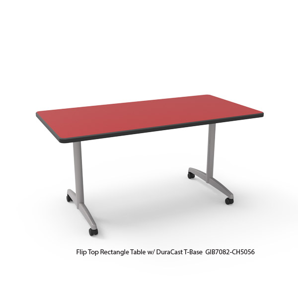 Flip Top Rectangle Table