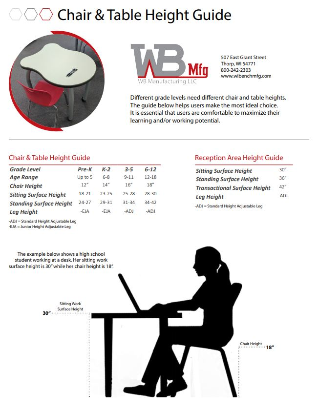 Chair and Table Height